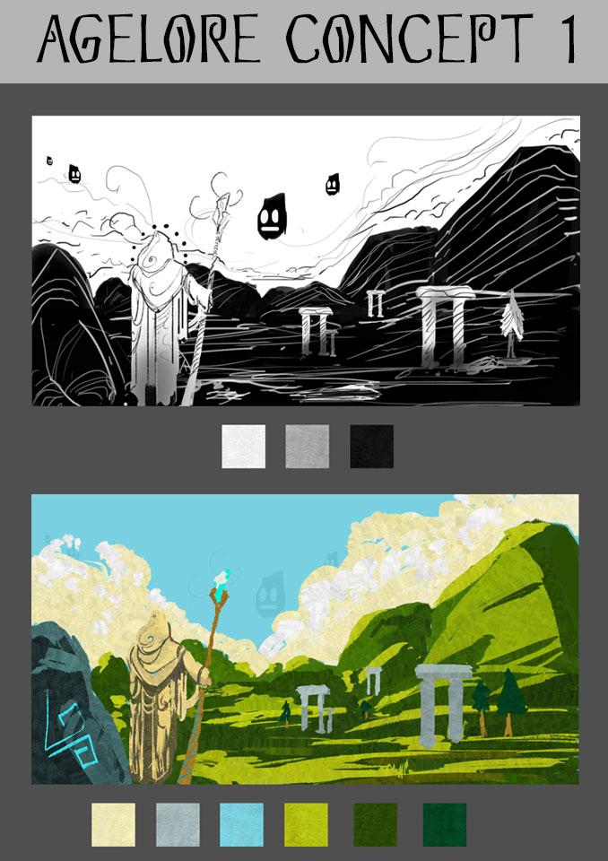 Agelore's Fantasy - VR - Concept 1